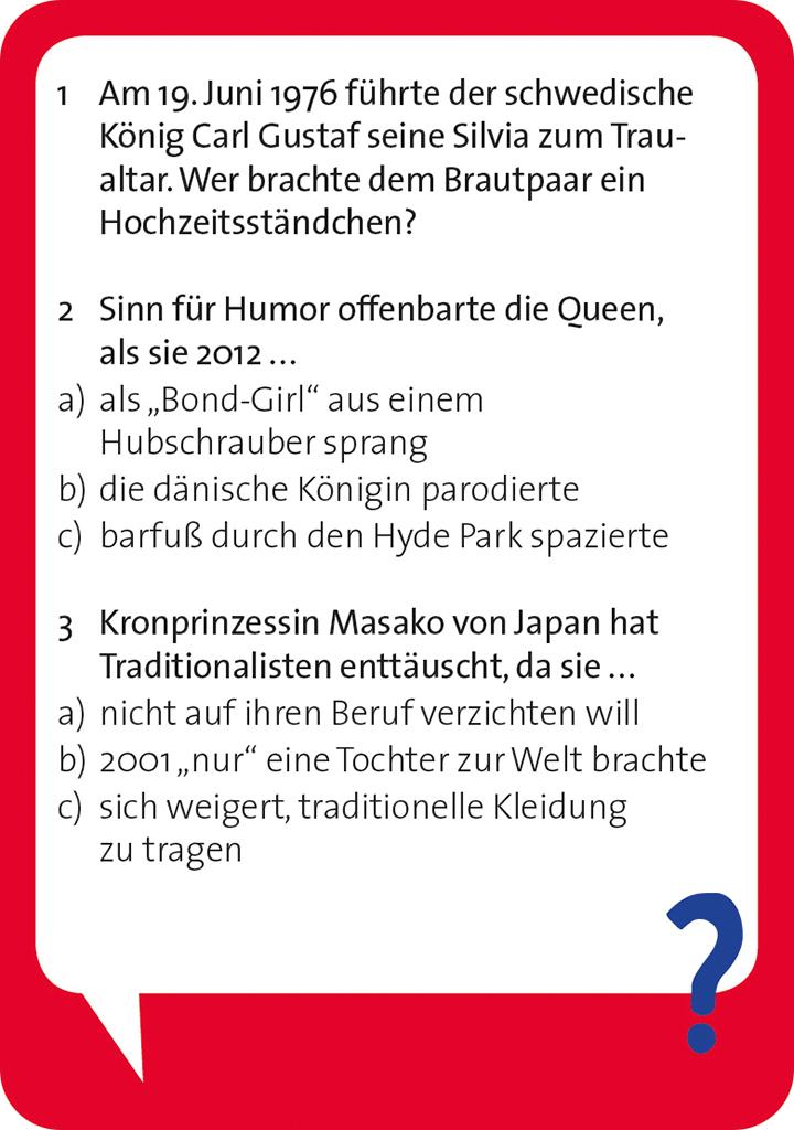 Pocket Quiz - Royals