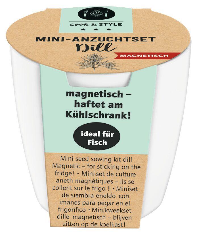 cook & STYLE Mini-Anzuchtset magnetisch (versch. Sorten)