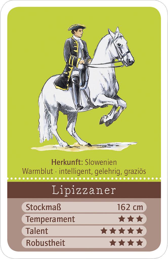 Trumpfen Spielen Quizzen - Pferde
