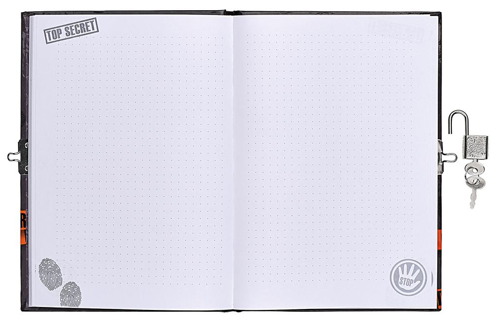 Top Secret - Tagebuch mit Geheimcodestift
