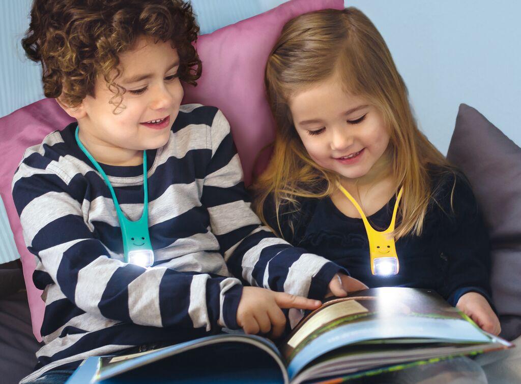 Lese Buddy - Das multifunktionale Leselicht gelb