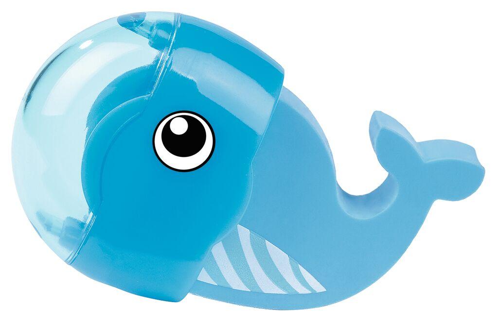 Radierer & Anspitzer Ozeanfreunde Wal