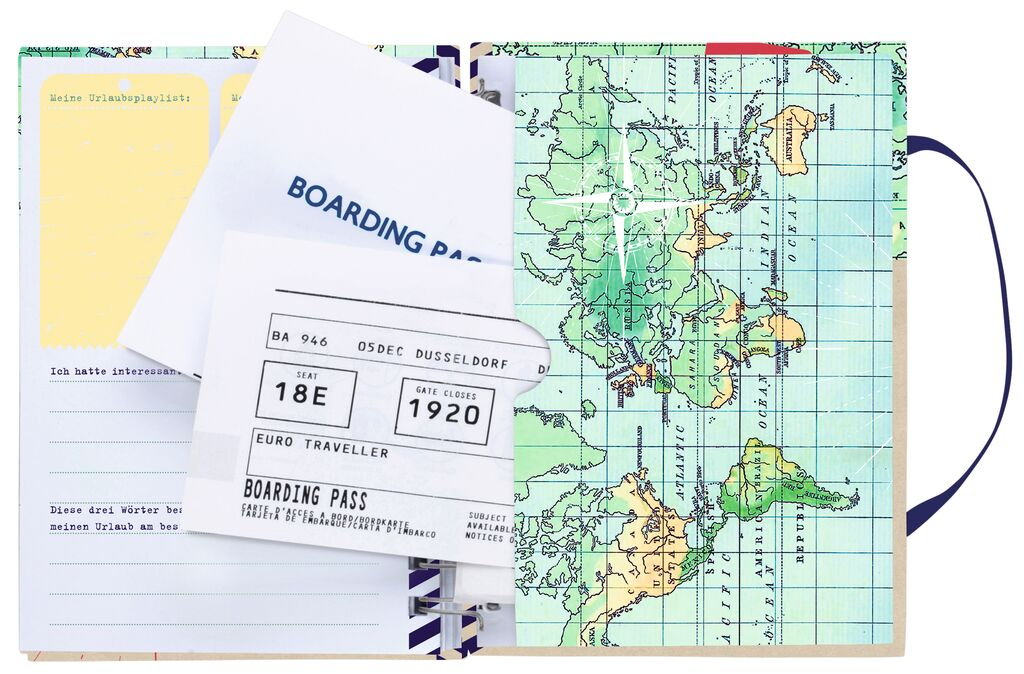 Fernweh Mein Reisetagebuch