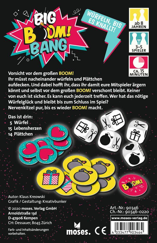 Big Boom Bang - Würfelspiel