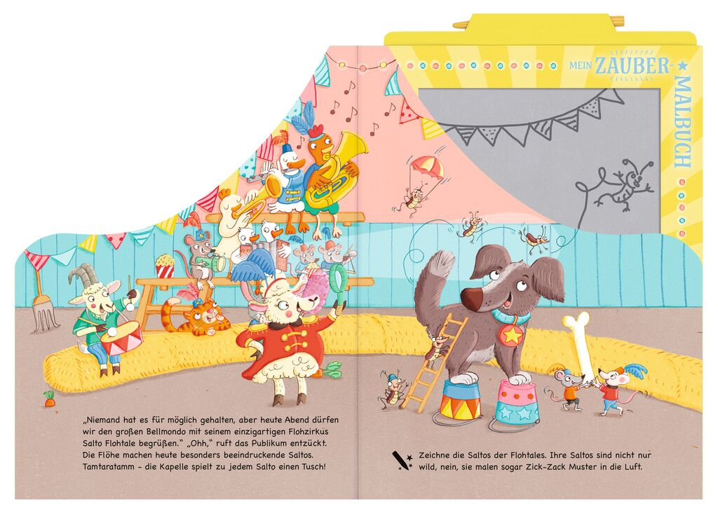 Mein Zaubermalbuch - Manege frei, Milla!