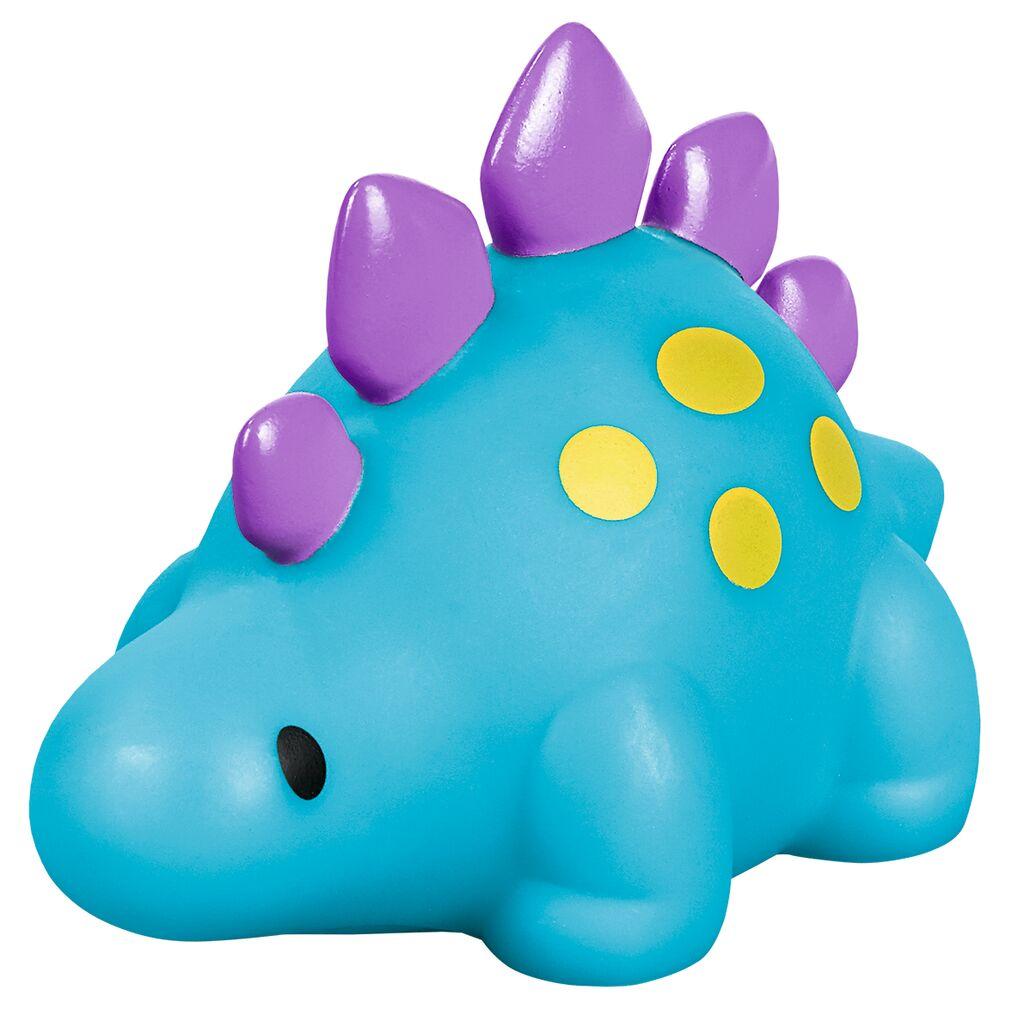 Leuchtender Bade-Dino blau