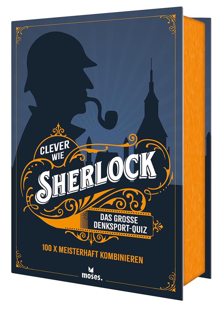 Clever wie Sherlock - Das große Denksport-Quiz