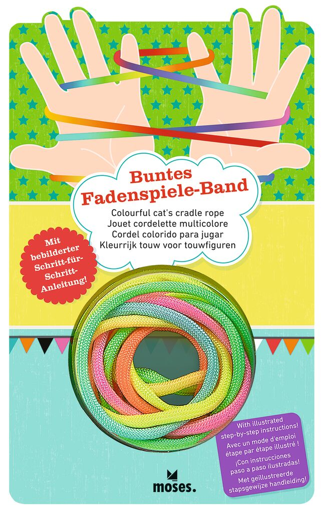 Buntes Fadenspiele-Band