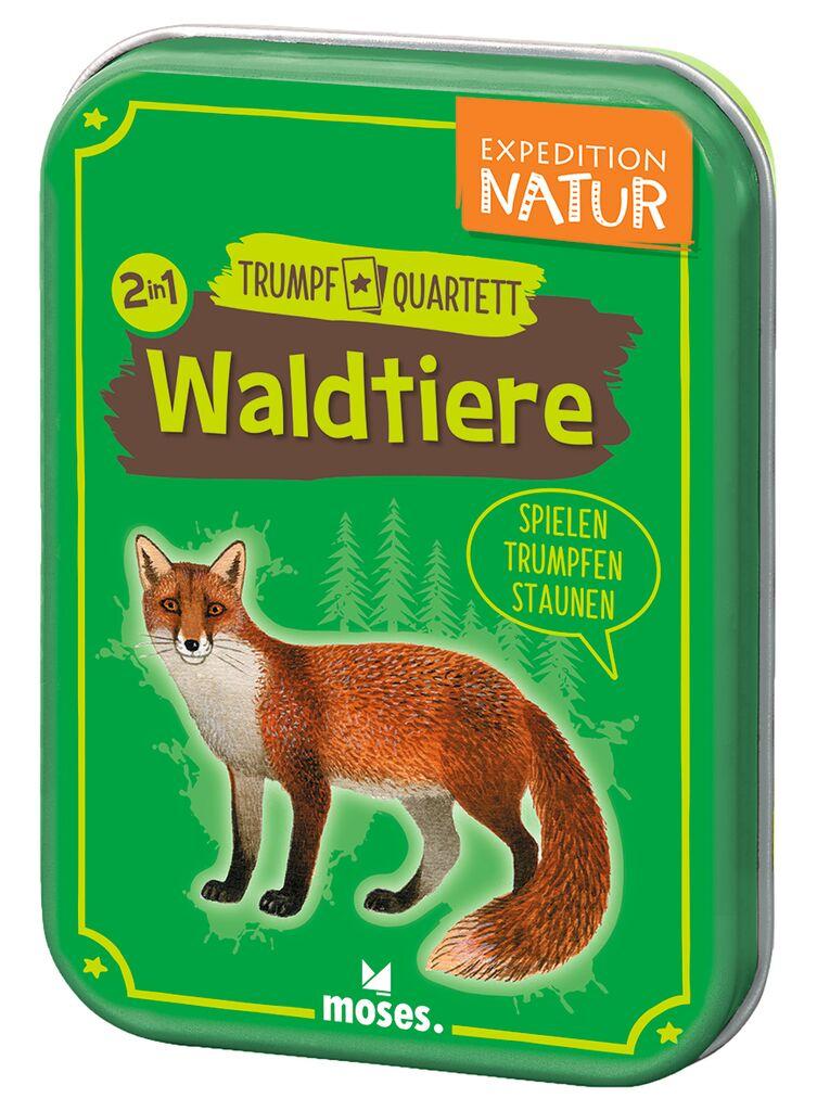 Expedition Natur Trumpf-Quartett Waldtiere