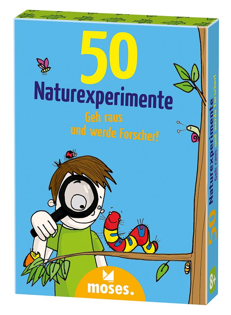 50 Naturexperimente - Geh raus und werde Forscher