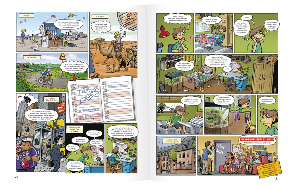 GEOlino Wadenbeißer - Krimi-Comics (Band 2)