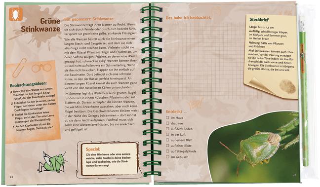 Expedition Natur - Das Becherlupen-Forscherbuch