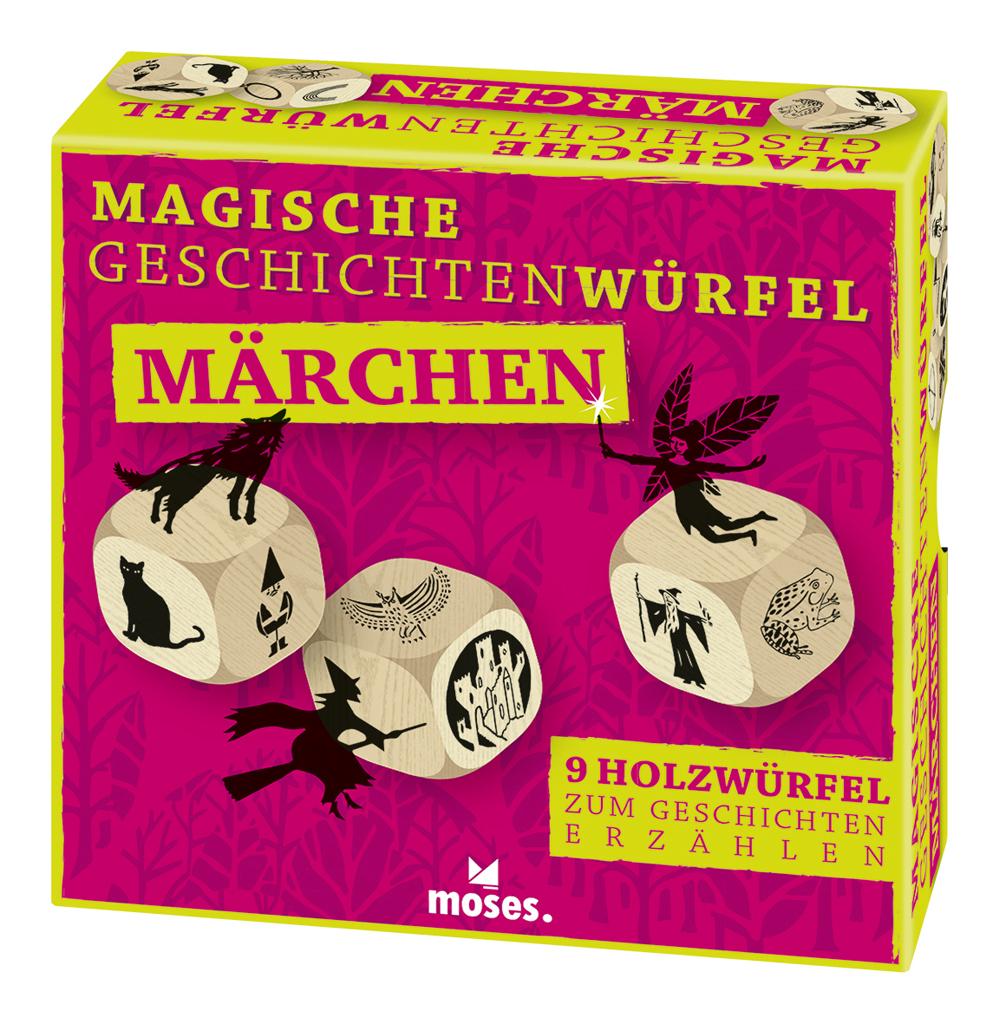 Magische Geschichten-Würfel: Märchen