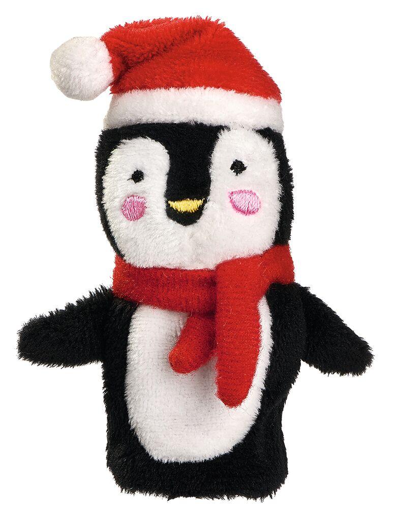 Fingerpüppchen Weihnachtsfreunde Pinguin