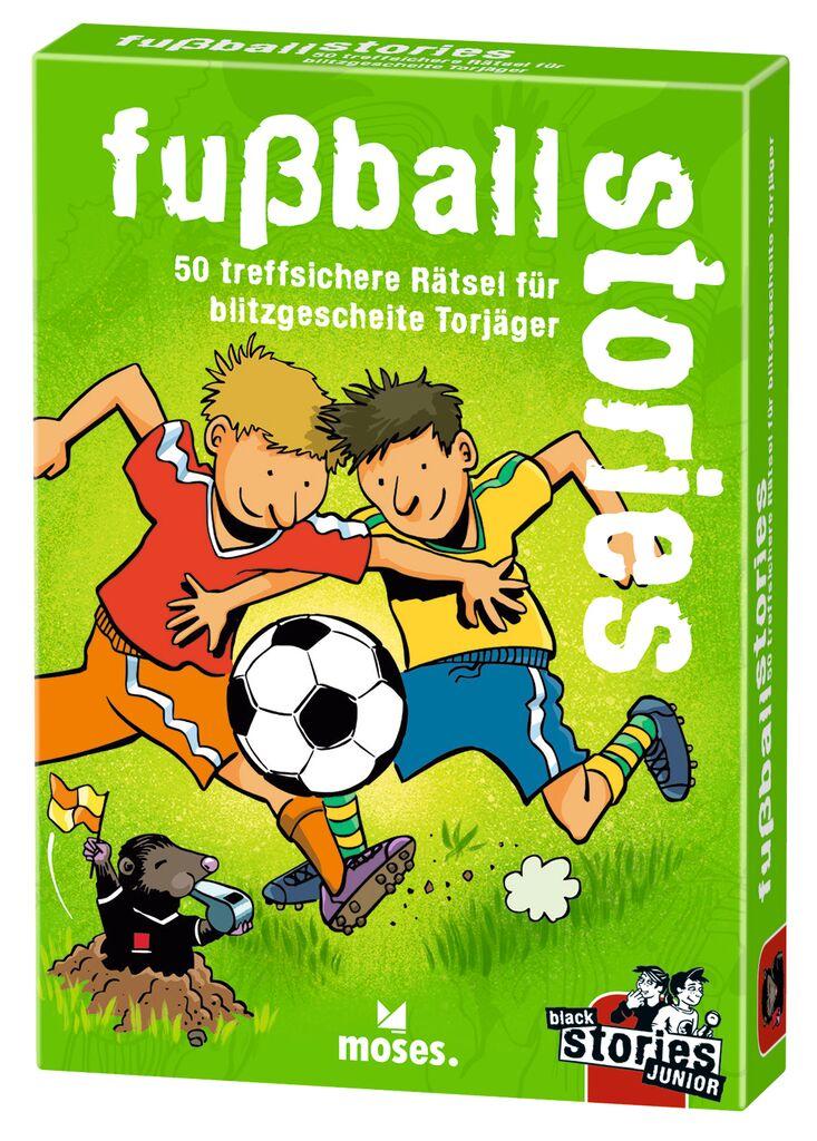 fußball stories - black stories Junior