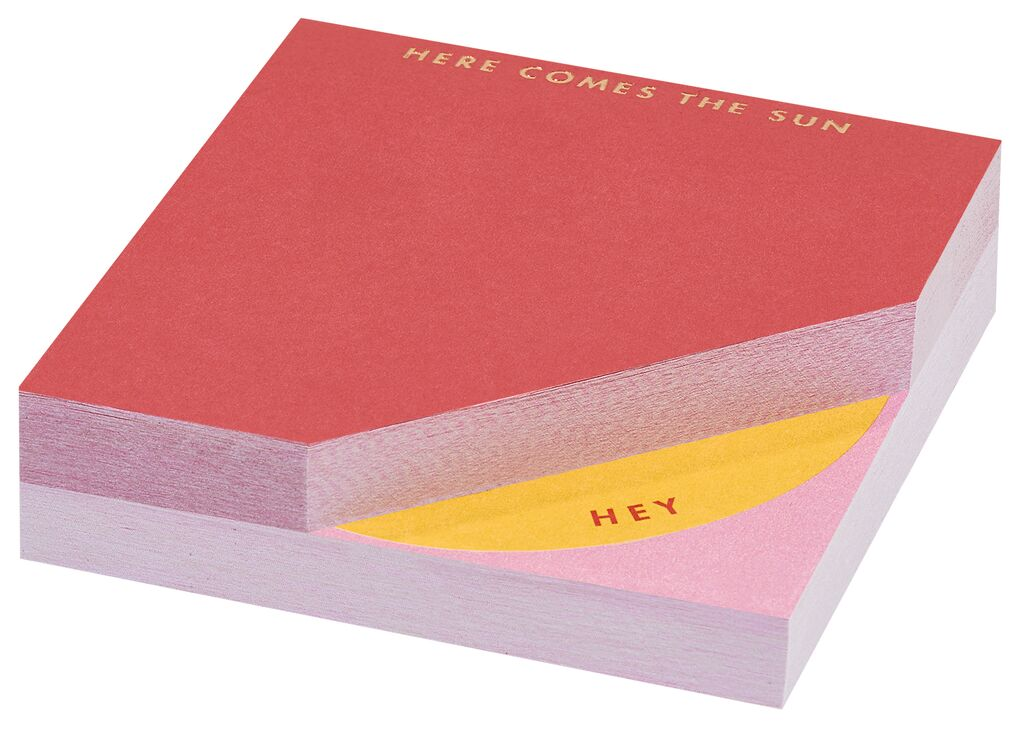 Papeterie Sticky notes Bright & Light pink