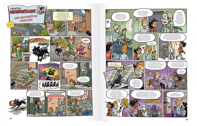 GEOlino Wadenbeißer - Krimi-Comics (Band 1)