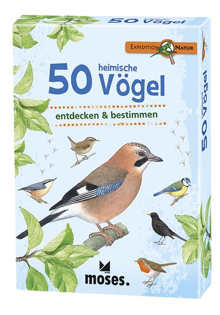 Expedition Natur - 50 heimische Vögel