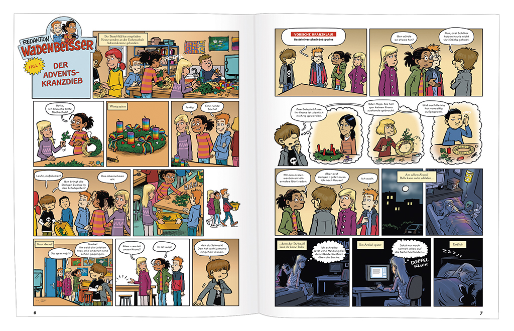 GEOlino Wadenbeißer -  Verzwickte Krimi-Comics (Band 7)