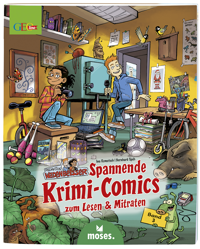 GEOlino Wadenbeißer - Krimi-Comics (Band 3)