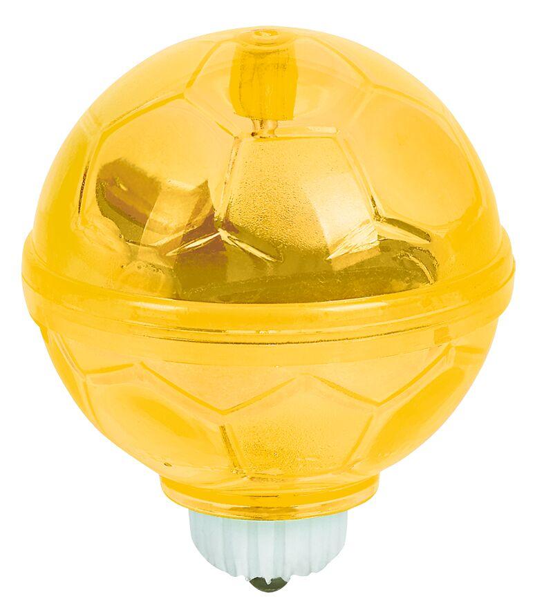 Fußball-Fieber Leuchtender Kreisel gelb