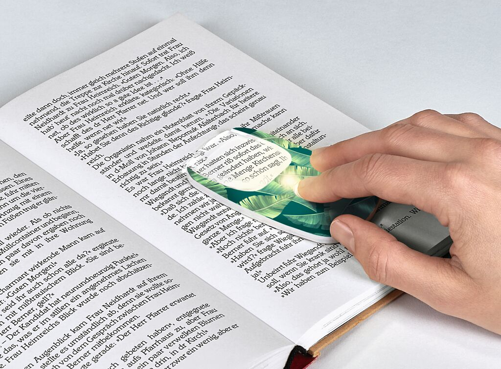 LED Lupe (versch. Designs)