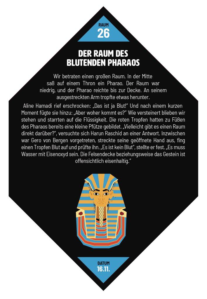 Gefährliche Rätsel: Verschollen in der Pyramide