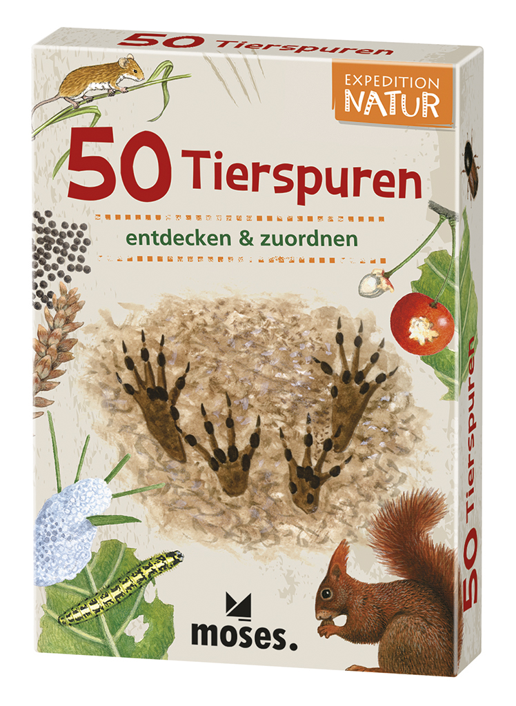 Expedition Natur - 50 Tierspuren